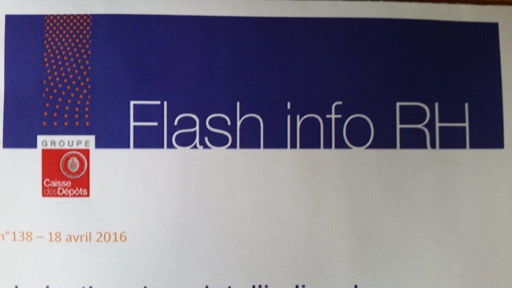 Flash-info RH : une vision limitée