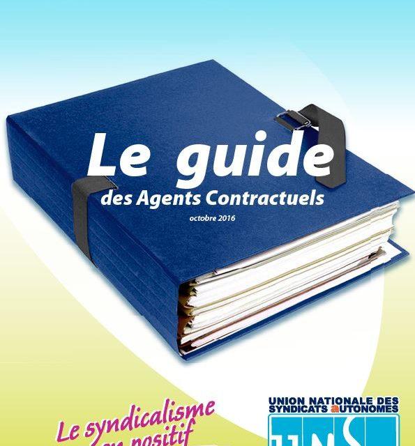Le Guide des Agents Contractuels