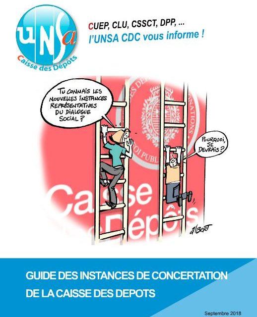 Guide des instances de concertation de la CDC