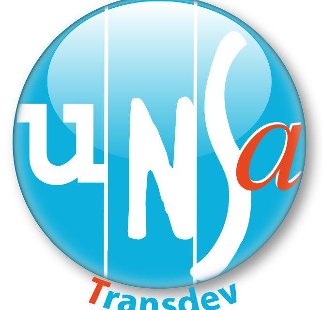 Résultats des élections du 9 octobre 2018 à l'UES Transdev : l'UNSA obtient 23,70% des suffrages