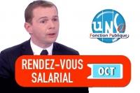 Suivi du RDV salarial Fonction Publique du 17 octobre : nouvelle déception concernant le pouvoir d'achat !