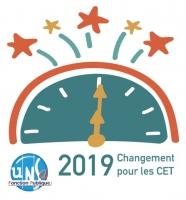 Les nouvelles modalités du CET à compter du 1er janvier 2019