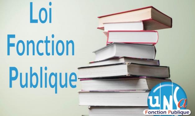 Publication de la loi de «transformation de la Fonction publique» au Journal officiel (JO) le 7 août 2019