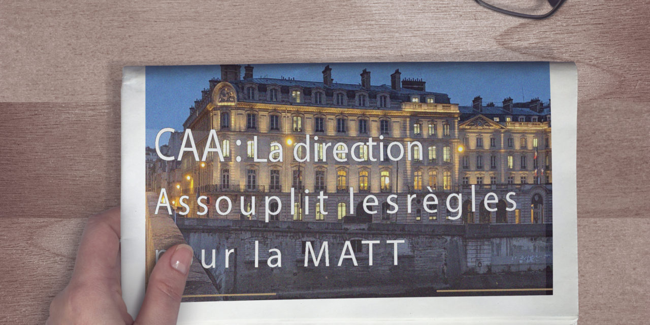Cessation Anticipée d'Activité (CAA) : la DRH assouplit le dispositif d'entrée pour les agents en MATT