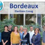 Plaquette élections Cosog Bordeaux