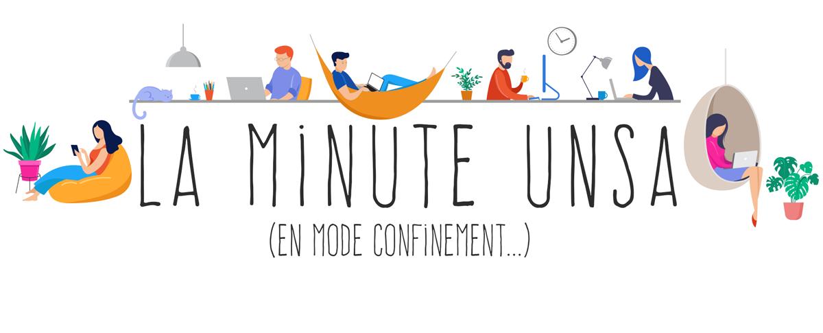 La minute de l'UNSA n°3 – Ne perdez pas le lien social