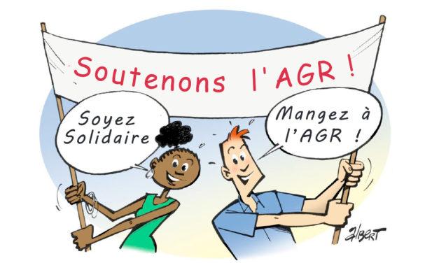 Soyez solidaire, mangez à l'AGR !