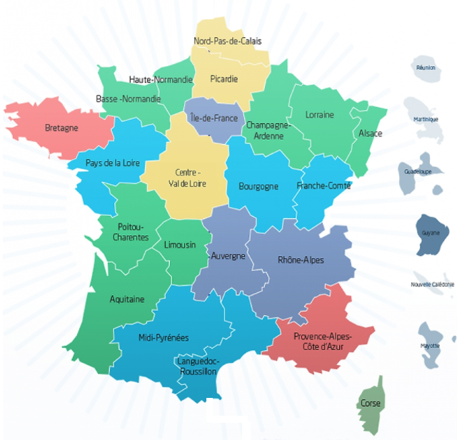 L'UNSA à la rencontre des agents des Directions régionales en 2015 et 2016