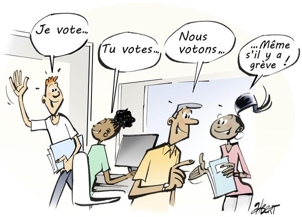 ELECTIONS COSOG : PENSEZ A VOTER !