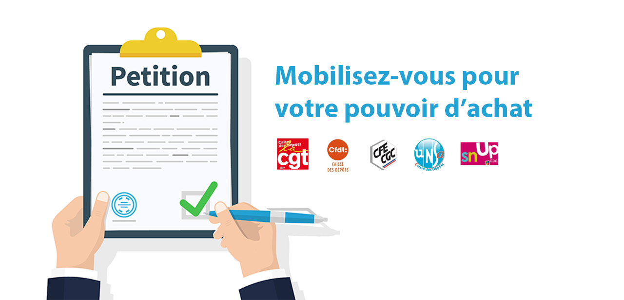 SIGNEZ MASSIVEMENT LA PETITION INTERSYNDICALE