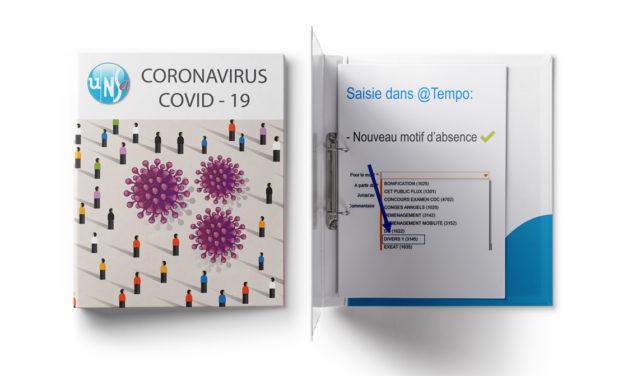 CORONAVIRUS – @Tempo – Nouveau motif d'absence