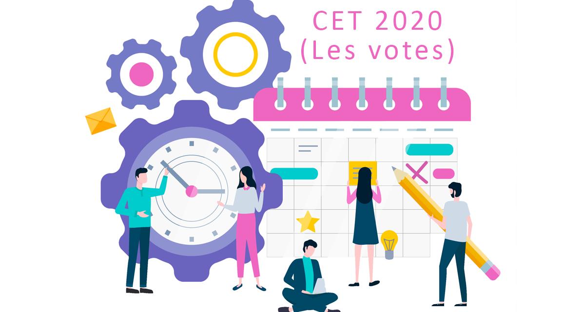 Signature majoritaire de l'accord Compte Epargne Temps (CET)