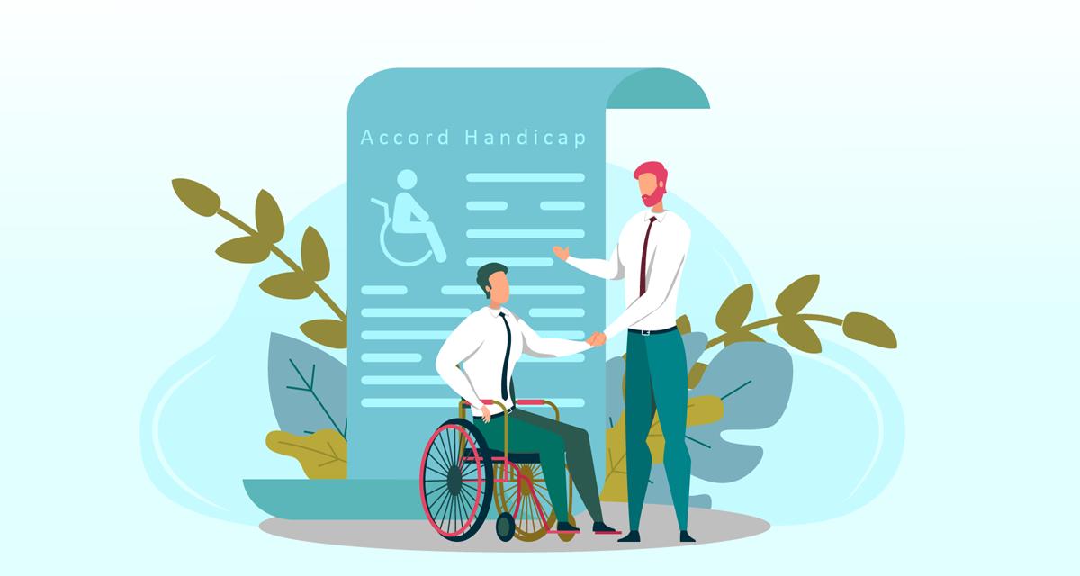 Nouvel accord triennal handicap