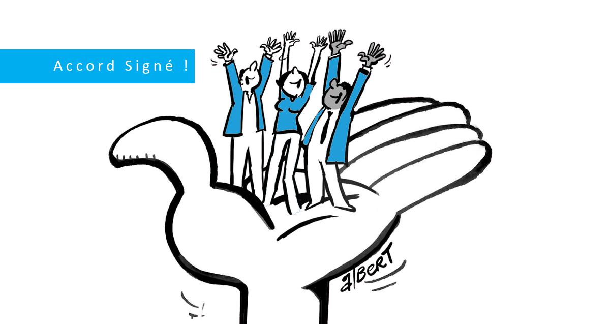 L'UNSA signe l'accord Don de jours : un accord ultra majoritaire !