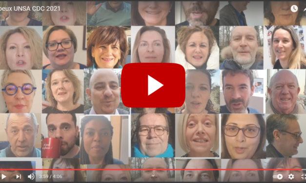Pour cette année 2021, toute l'équipe de UNSA CDC vous souhaite le meilleur pour vous et vos proches !
