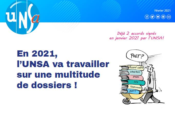 Tribune syndicale UNSA – Février 2021
