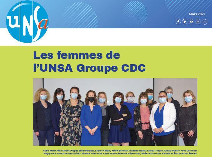 Tribune syndicale UNSA – Mars 2021