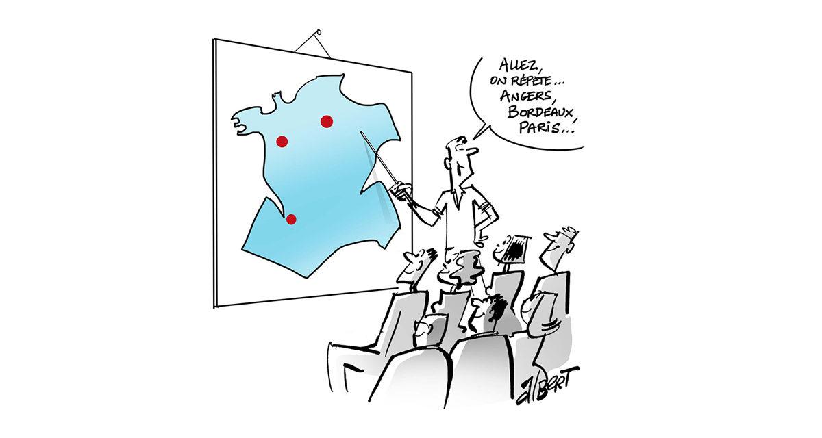 Paris, Bordeaux, Angers, Marseille, Lille … Concours interministériels de catégorie C et B, les règles d'inscription au concours et d'affectation géographique changent