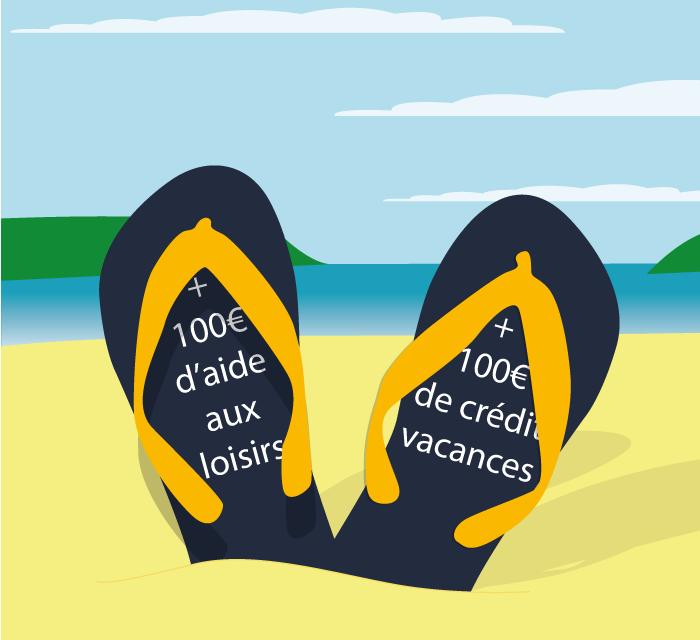 Partez en vacances avec un bonus de 100 euros !
