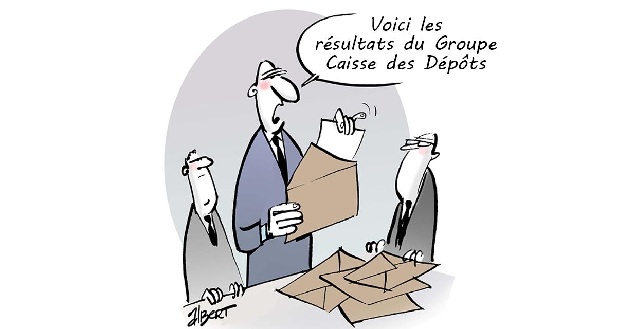 Résultats du Groupe Caisse des Dépôts : + 777 millions d'euros