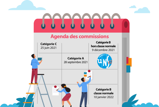 Fonctionnaires / agents CANSSM : Promotions 2022